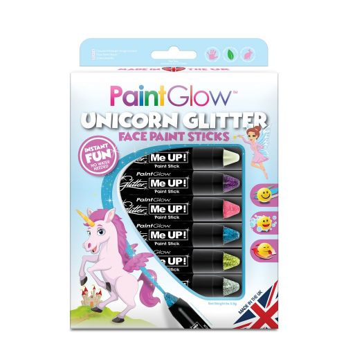 Unicorn Glitter Sticks
